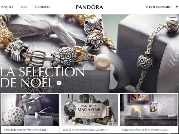 Bijoux Authentiques Pandora en ligne