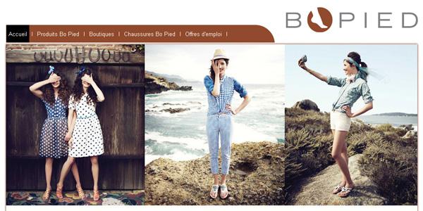 Boutique Bo Pied en ligne circulaire
