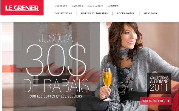 Circulaire Boutique Le Grenier en ligne