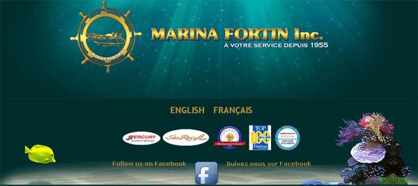 Marina Fortin en ligne Bateau a Vendre