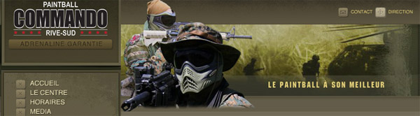 Paintball Commando Rive Sud en ligne