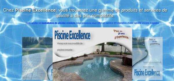 Piscine Excellence circulaire en ligne