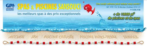 Spas Piscines Sansouci circulaire en ligne